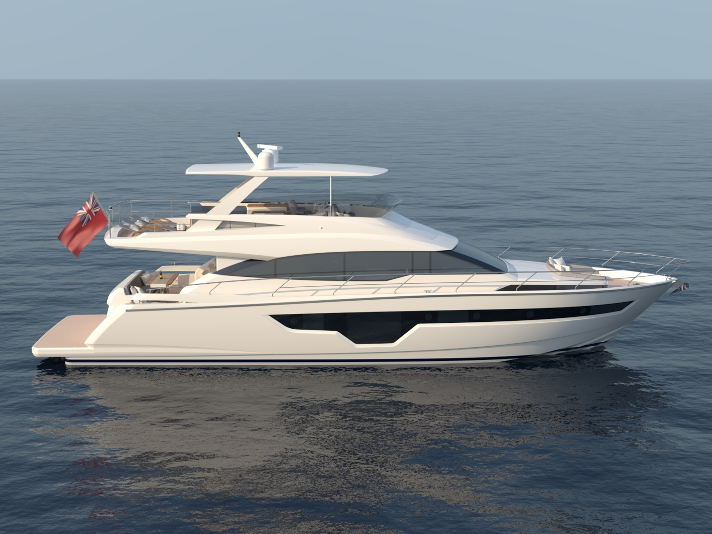 Picture Of: 70' Johnson Flybridge Motor Yacht 2021 Yacht For Sale | 1 of 11