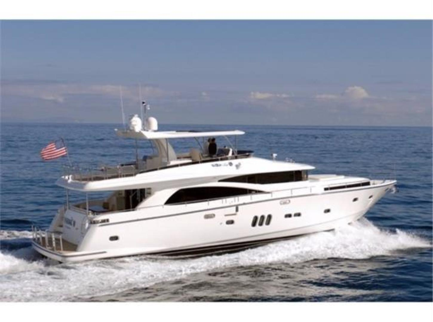 Picture Of: 83' Johnson Flybridge w/Hydraulic Platform 2021 Yacht For Sale | 1 of 15