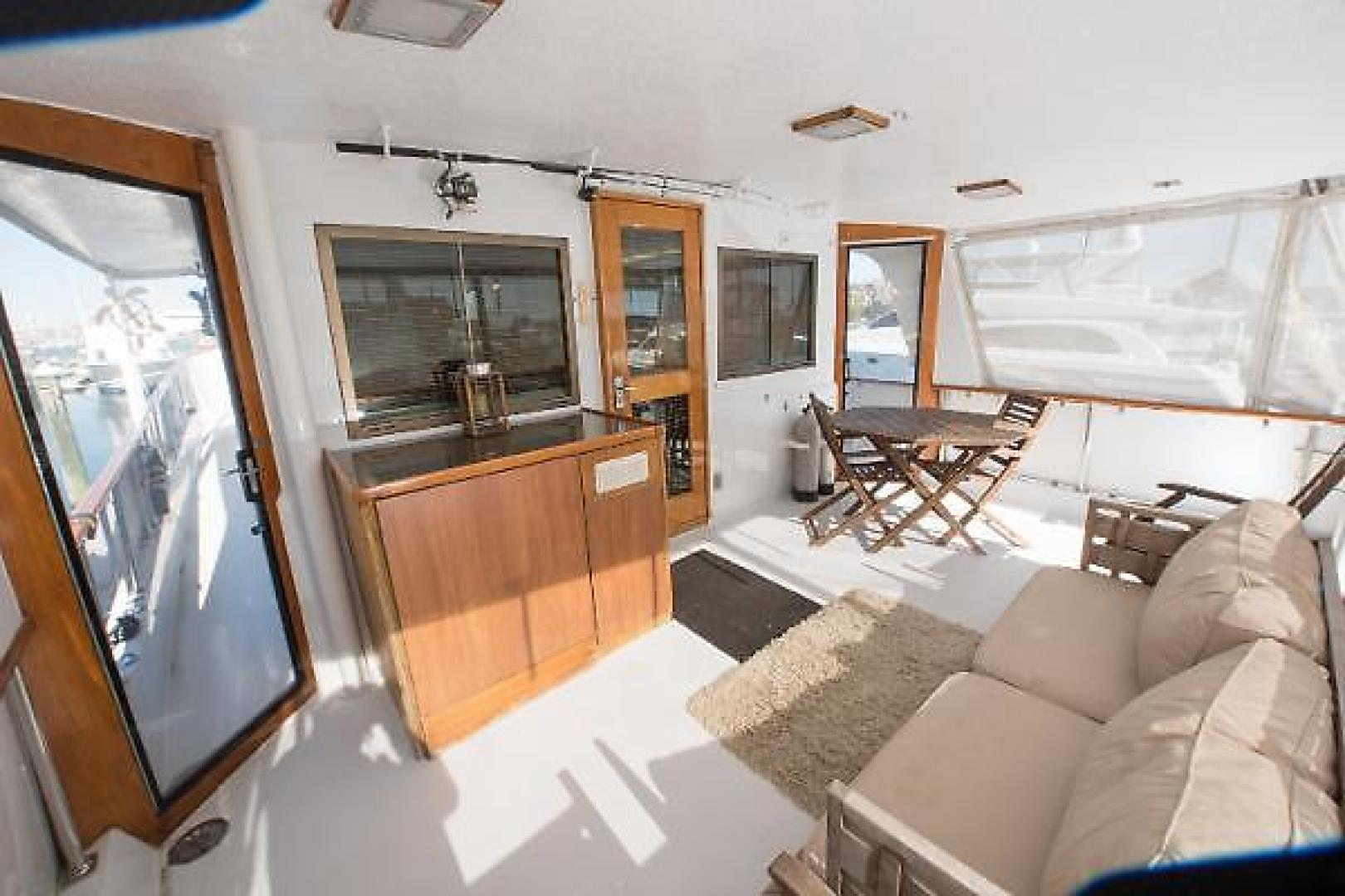 Picture Of: 58' Hatteras Long Range Cruiser 1977 Yacht For Sale | 2 of 61