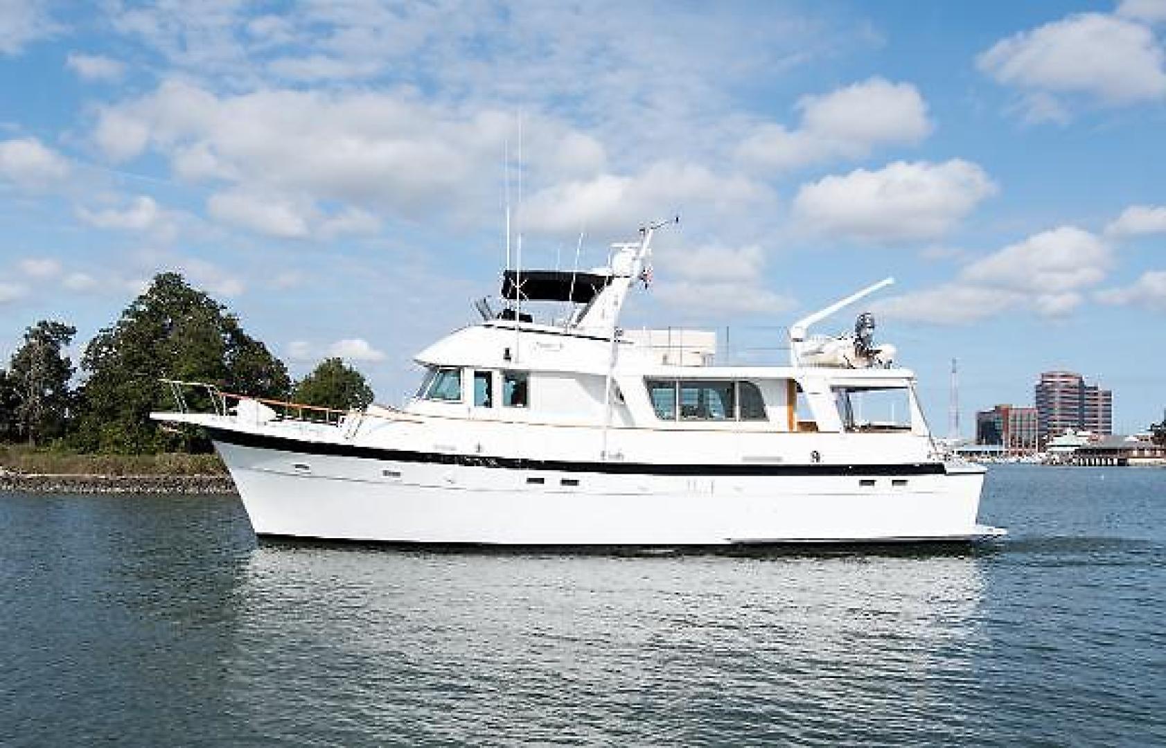 """1977 Hatteras 58' Long Range Cruiser """"Maggie B"""""""