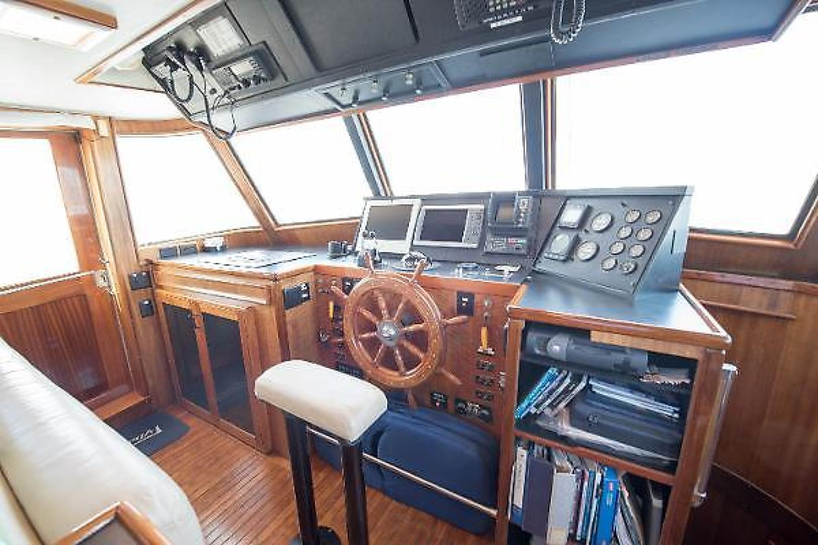 Hatteras-Long Range Cruiser 1977-Maggie B Hampton-Virginia-United States-232548 | Thumbnail
