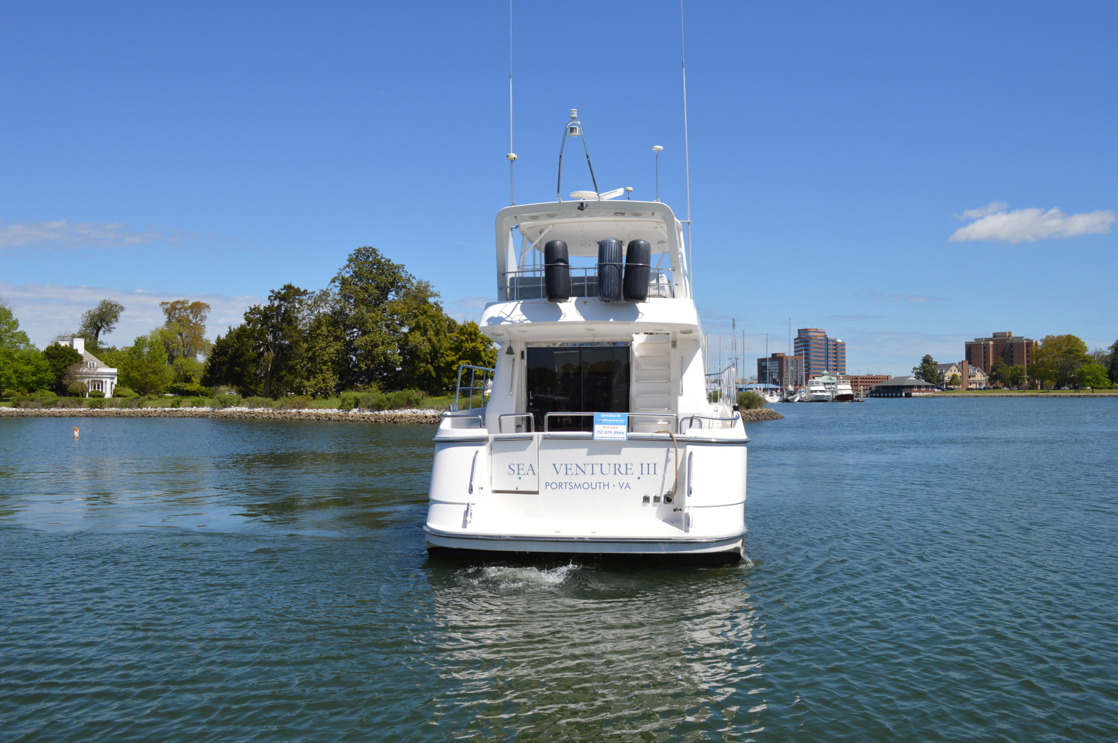 Neptunus-55 Motor Yacht 1997-Sea Venture III Hampton-Virginia-United States-1355278 | Thumbnail
