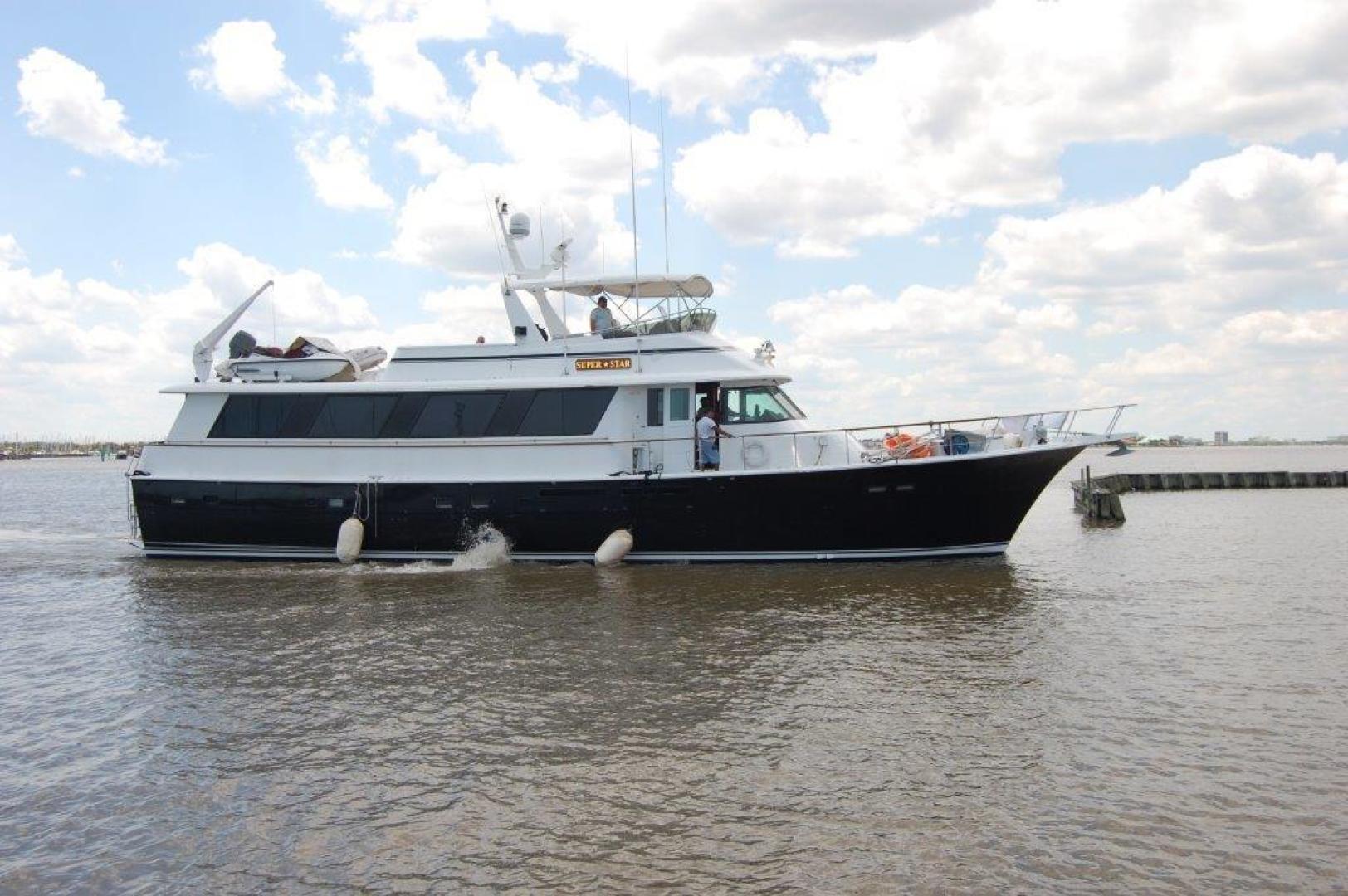 "1985 Hatteras 72' 72 Motor Yacht ""Super Star"""