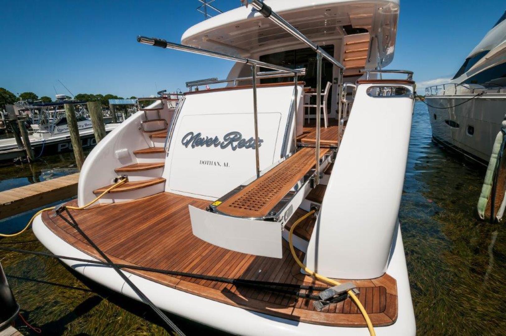 Maiora-84 Motor Yacht 2015-Never Rest SANDESTIN-Florida-United States-2015 Maiora 84 Motor Yacht Gang Plank Never Rest-720537 | Thumbnail