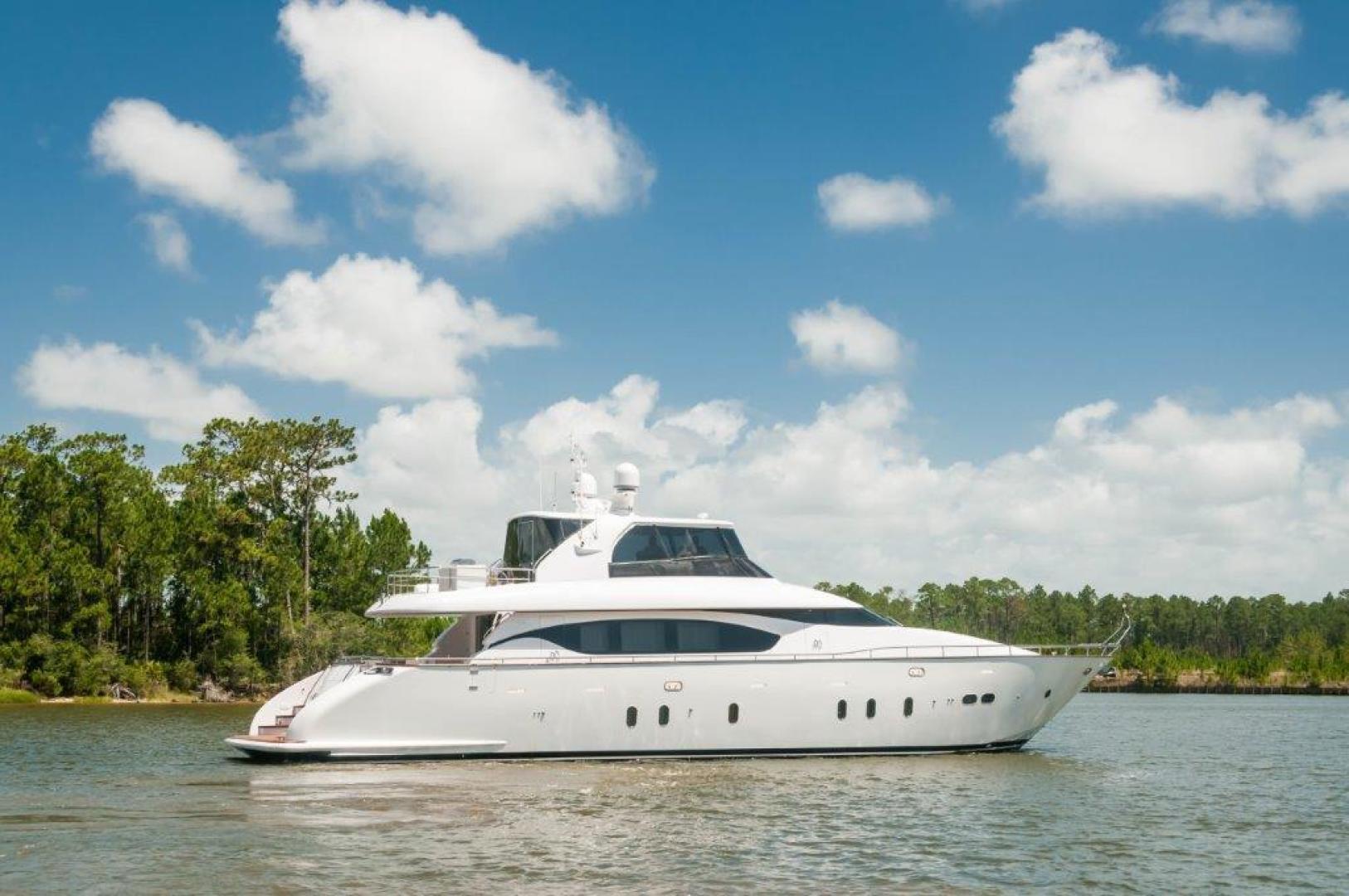 Maiora-84 Motor Yacht 2015-Never Rest SANDESTIN-Florida-United States-2015 Maiora 84 Motor Yacht Never Rest Starboard Profile-720529 | Thumbnail