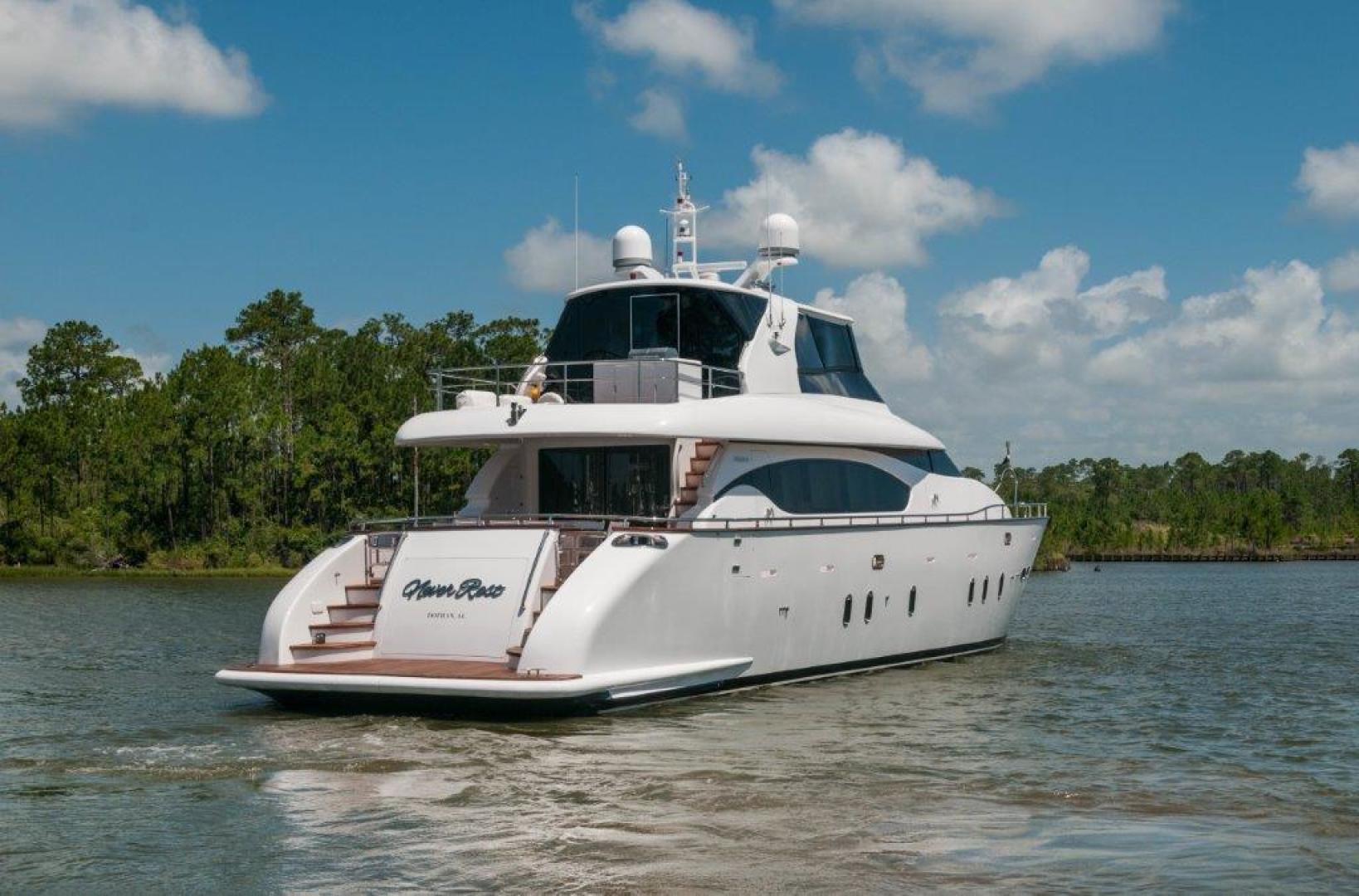 Maiora-84 Motor Yacht 2015-Never Rest SANDESTIN-Florida-United States-2015 Maiora 84 Motor Yacht Transom Never Rest-720530 | Thumbnail