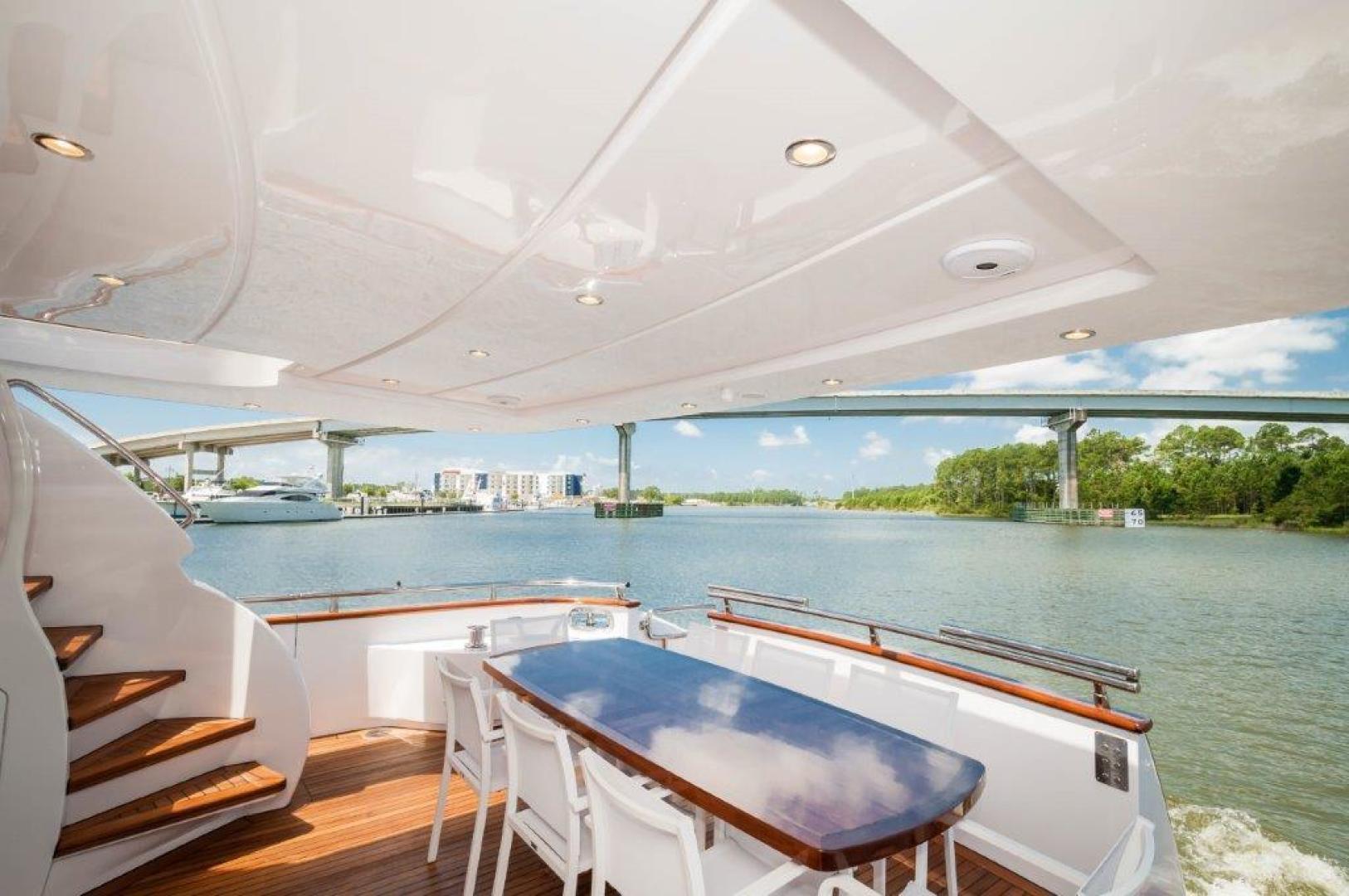 Maiora-84 Motor Yacht 2015-Never Rest SANDESTIN-Florida-United States-2015 Maiora 84 Motor Yacht Cockpit Never Rest-720590 | Thumbnail