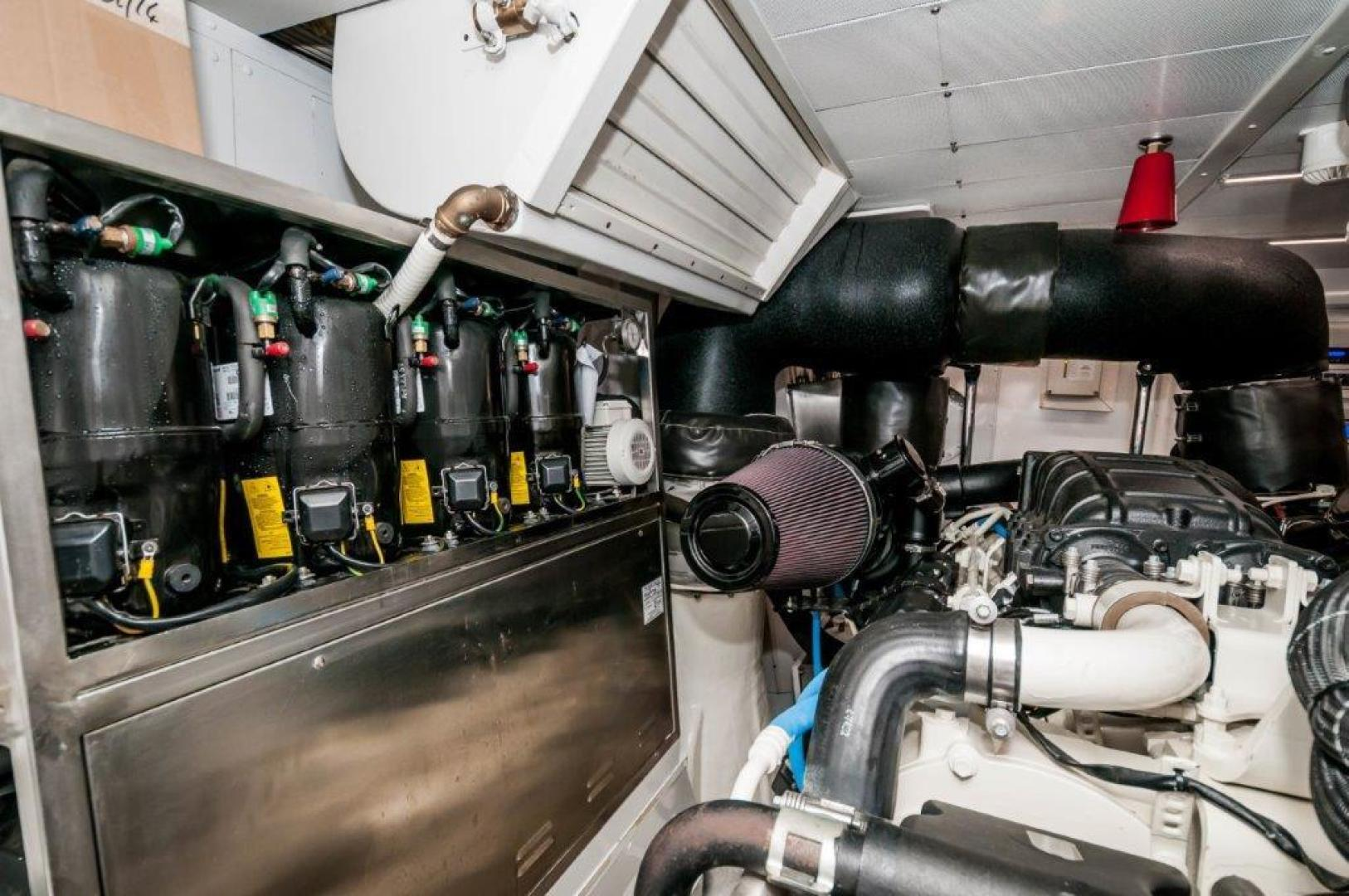 Maiora-84 Motor Yacht 2015-Never Rest SANDESTIN-Florida-United States-2015 Maiora 84 Motor Yacht Engine Room Never Rest-720612 | Thumbnail