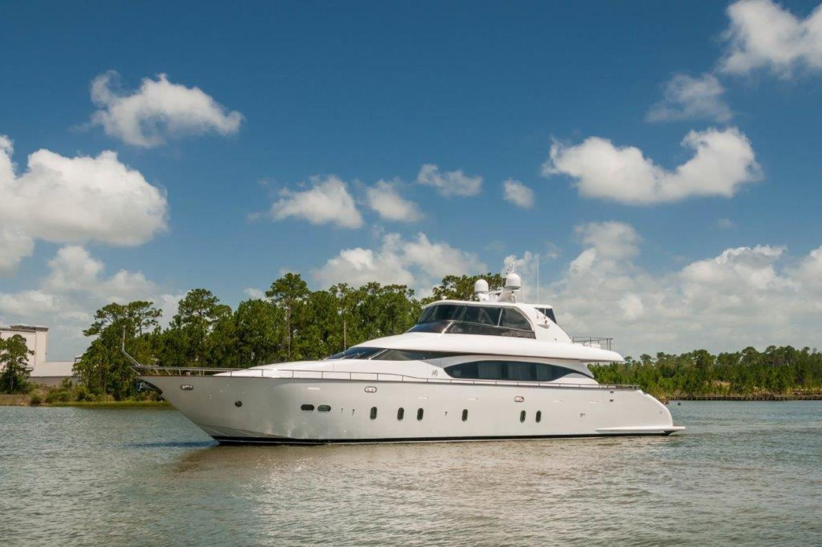 Maiora-84 Motor Yacht 2015-Never Rest SANDESTIN-Florida-United States-2015 Maiora 84 Motor Yacht Never Rest Port Profile-720525 | Thumbnail