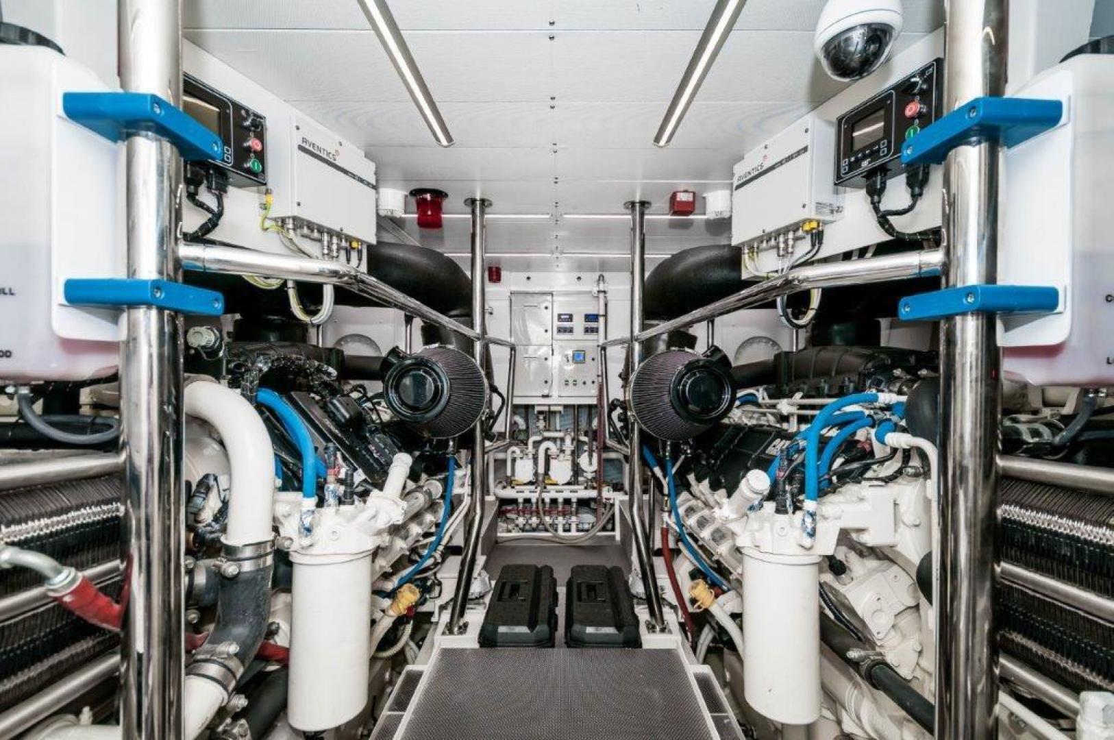 Maiora-84 Motor Yacht 2015-Never Rest SANDESTIN-Florida-United States-2015 Maiora 84 Motor Yacht Engine Room Never Rest-720613 | Thumbnail