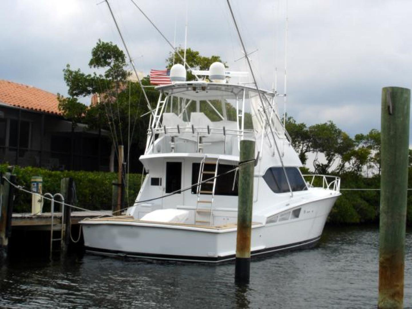 Hatteras-50 Convertible SF 2001-Kmteezer New Orleans-Louisiana-United States-Stern-371142 | Thumbnail