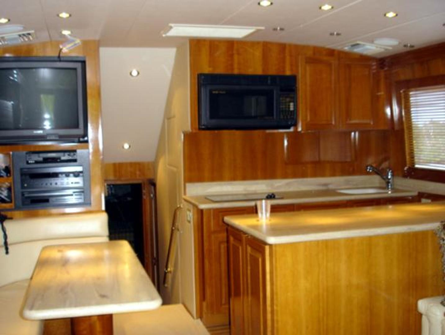 Hatteras-50 Convertible SF 2001-Kmteezer New Orleans-Louisiana-United States-Galley-371135 | Thumbnail