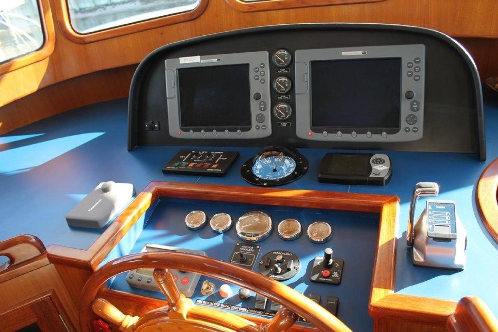 Integrity-496 Trawler 2007-Pier Pressure V St. Johns-Newfoundland And Labrador-Canada-Pilothouse Electronics-920712 | Thumbnail