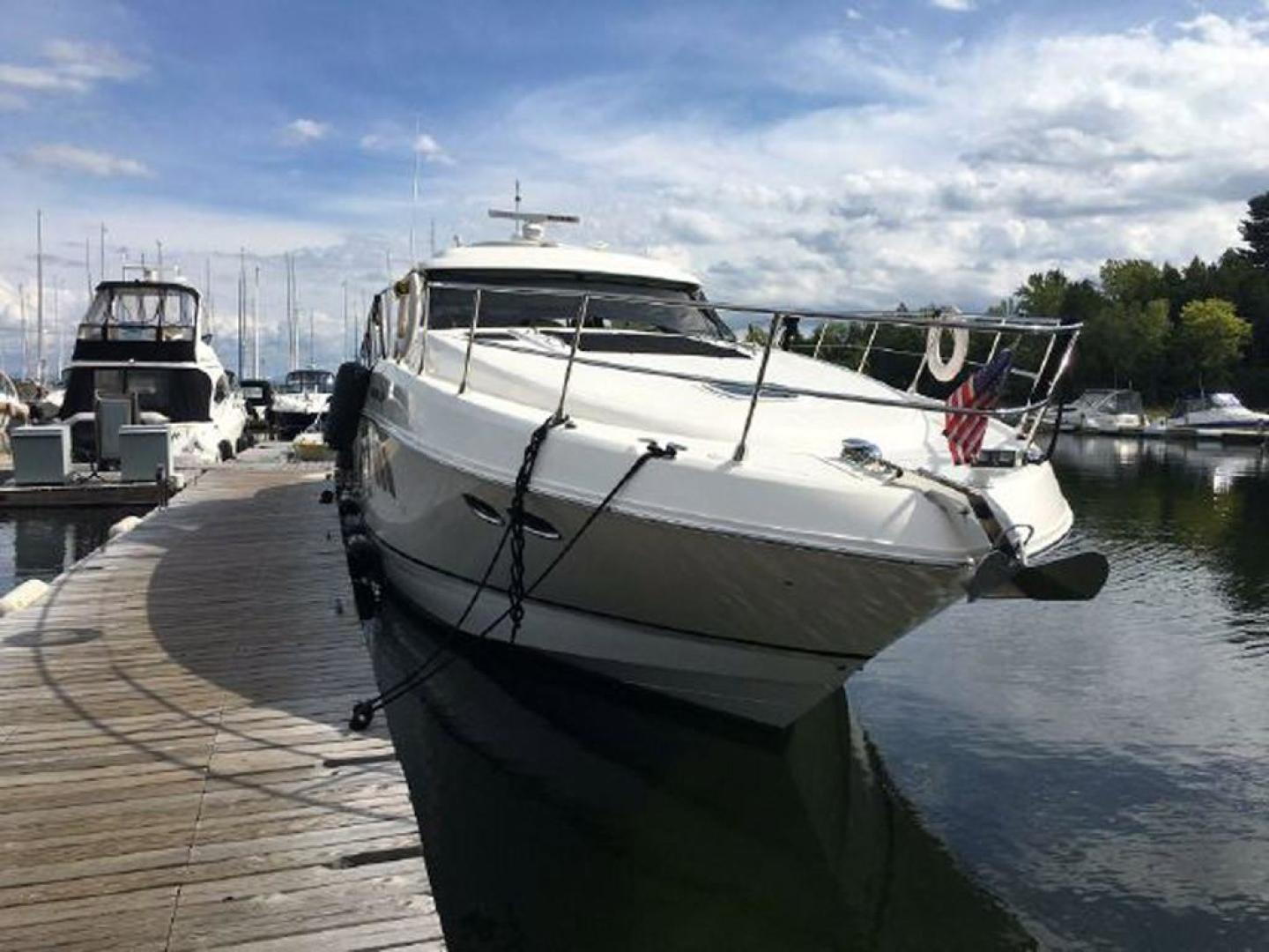 Sea Ray-55 Sundancer 2008 -Plattsburgh-New York-United States-Starboard Bow-920642 | Thumbnail