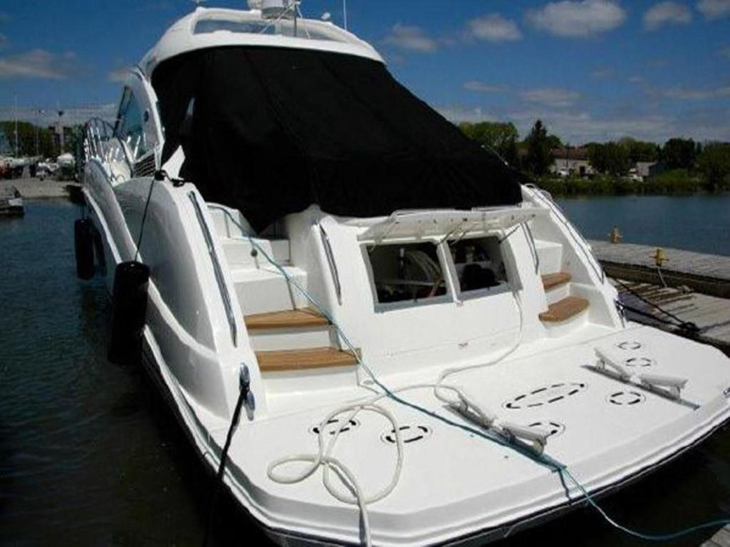 Sea Ray-55 Sundancer 2008 -Plattsburgh-New York-United States-Aft View-920641 | Thumbnail