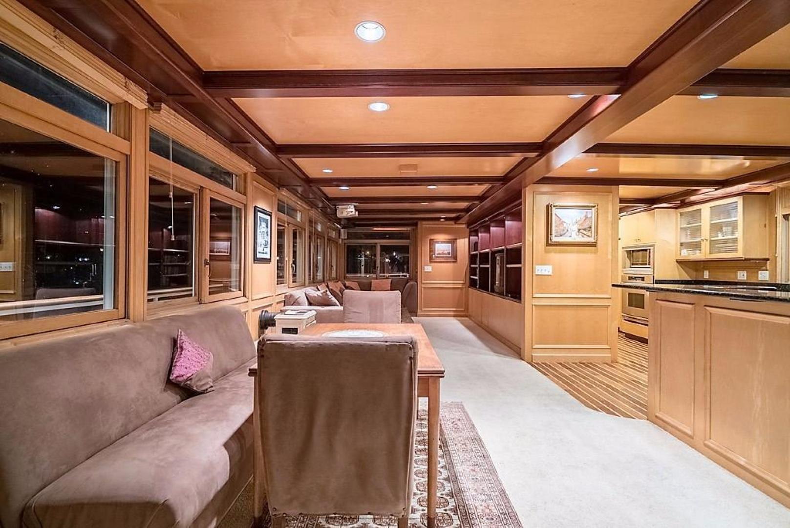 AC Mcleod-Custom Sternwheeler House Barge 1982-Elena Queen of Arts Haverstraw-New York-United States-Dining & Living Rooms-929672 | Thumbnail