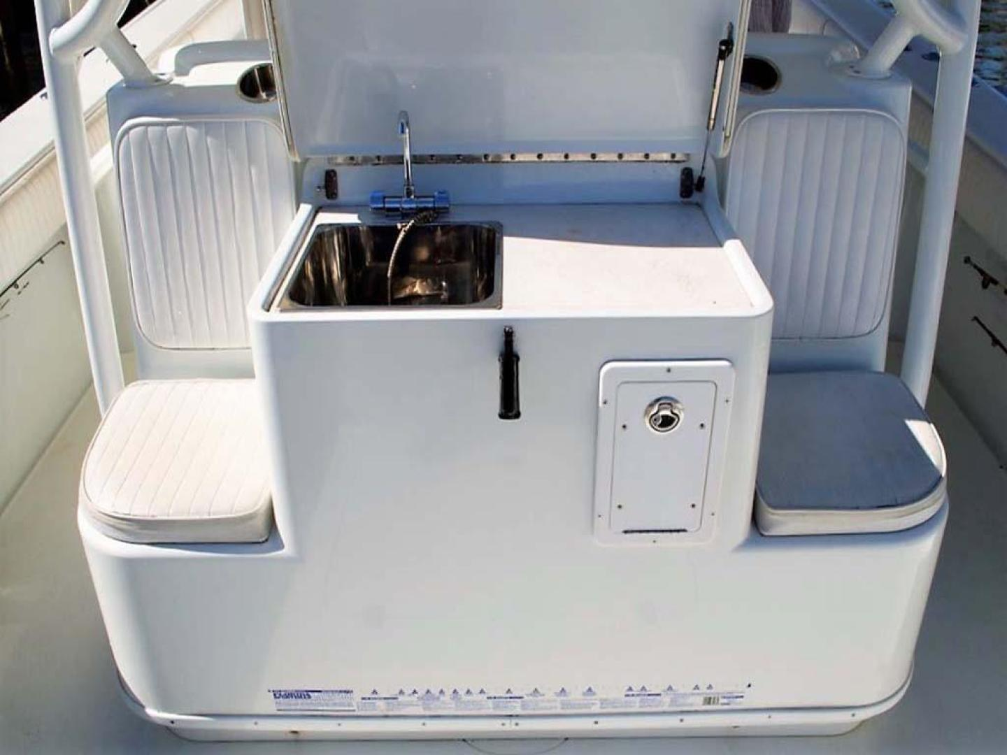Yellowfin-42 Offshore 2009-Hard Charger Pompano-Florida-United States-Cockpit Sink-929772 | Thumbnail