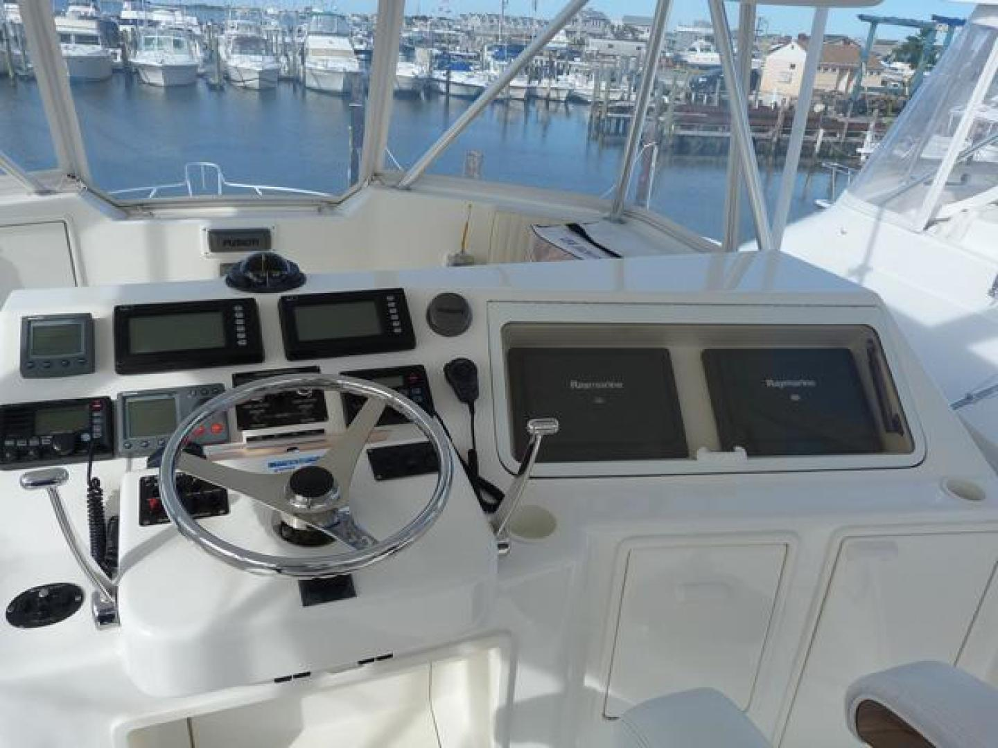 Ocean Yachts-46 Super Sport 2007-Nutz N Boltz Atlantic City-New Jersey-United States-Helm Seating-928353 | Thumbnail