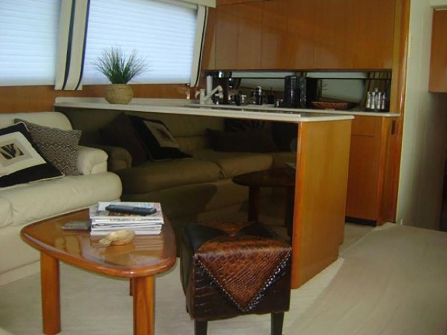 Viking-55 Convertible 1998-Wild Oats Cape May-New Jersey-United States-Galley View from Aft-928404   Thumbnail