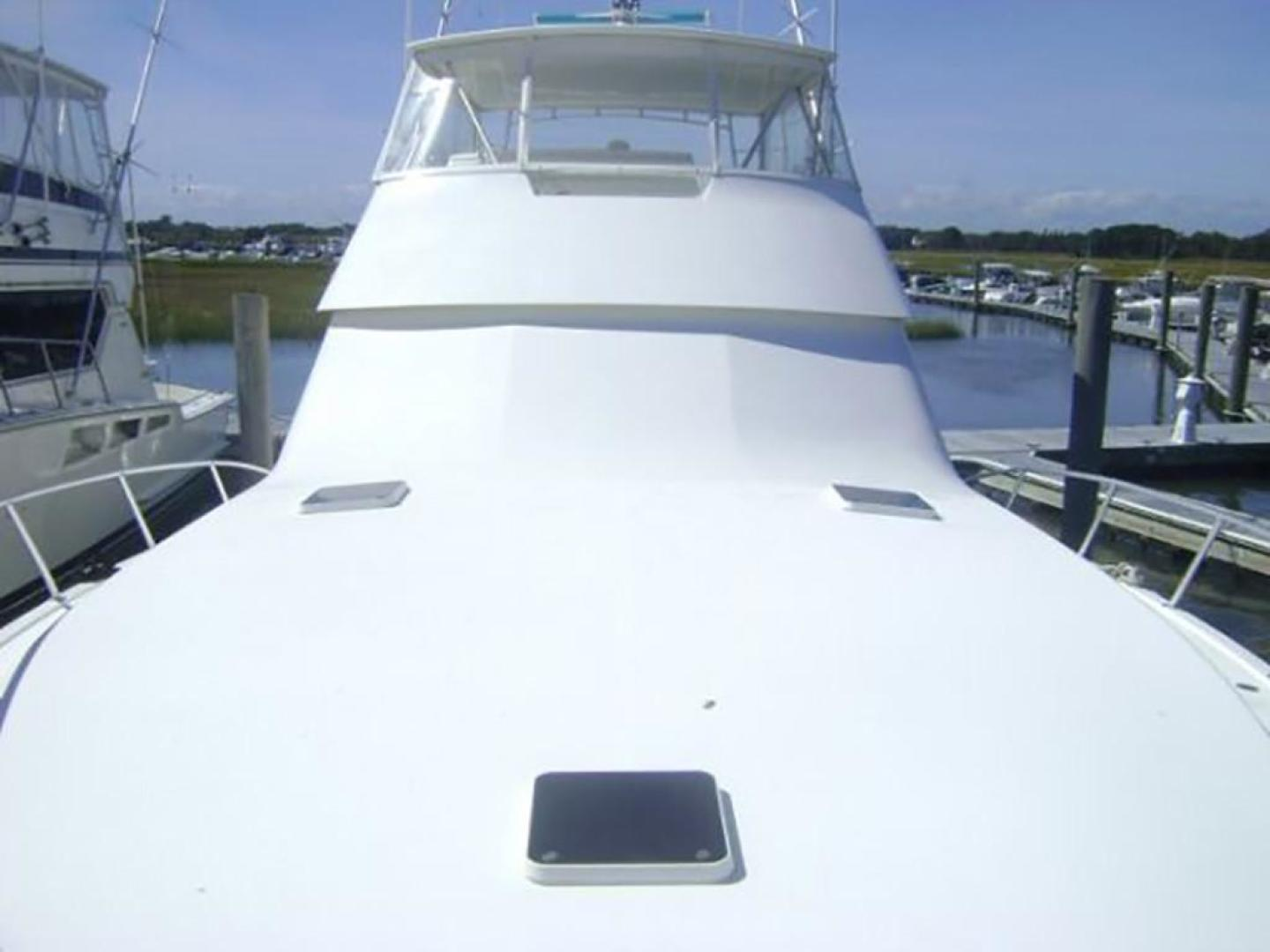 Viking-55 Convertible 1998-Wild Oats Cape May-New Jersey-United States-Foredeck Looking Aft-928415   Thumbnail