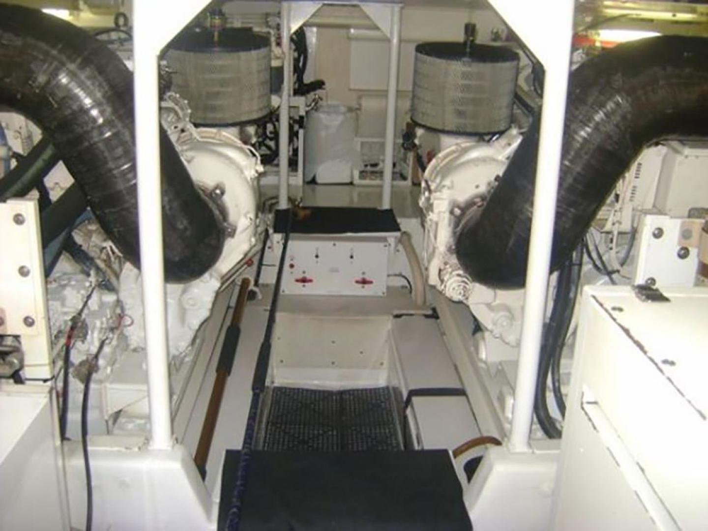 Viking-55 Convertible 1998-Wild Oats Cape May-New Jersey-United States-Engine Room-928434   Thumbnail