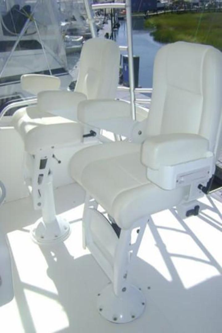 Viking-55 Convertible 1998-Wild Oats Cape May-New Jersey-United States-Bridge Helm Seats-928426   Thumbnail