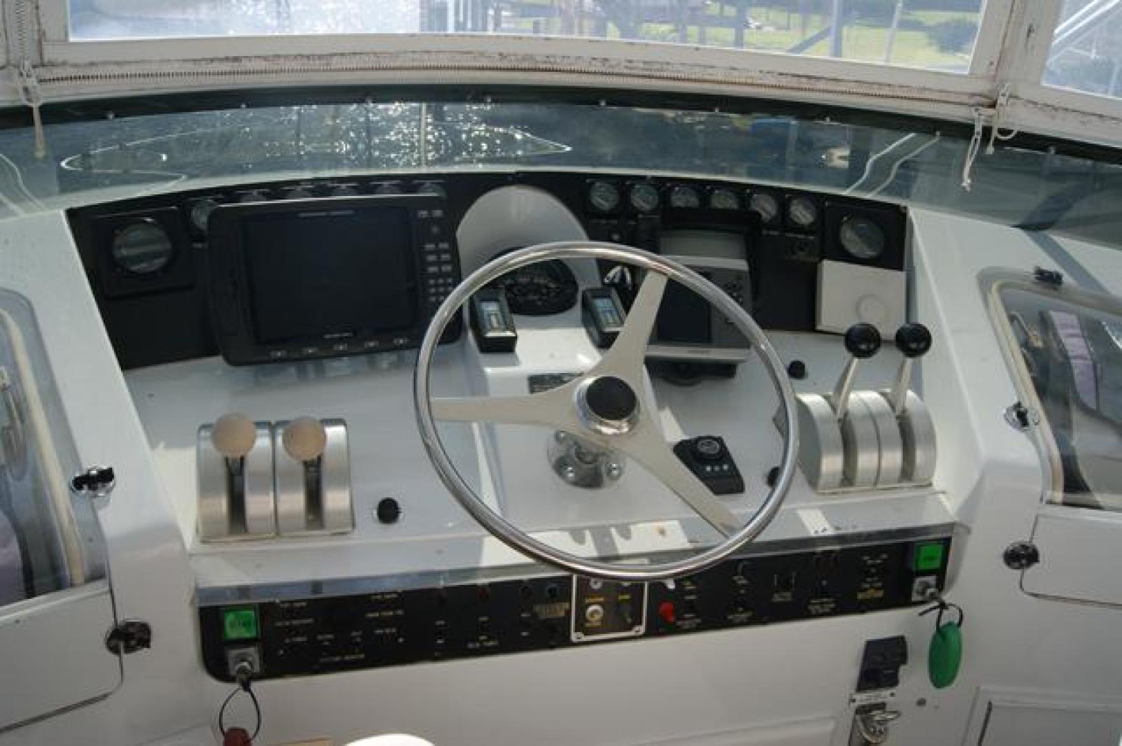 Hatteras-52 Cockpit MY 1999-Pass the Hatt Stuart-Florida-United States-926431 | Thumbnail