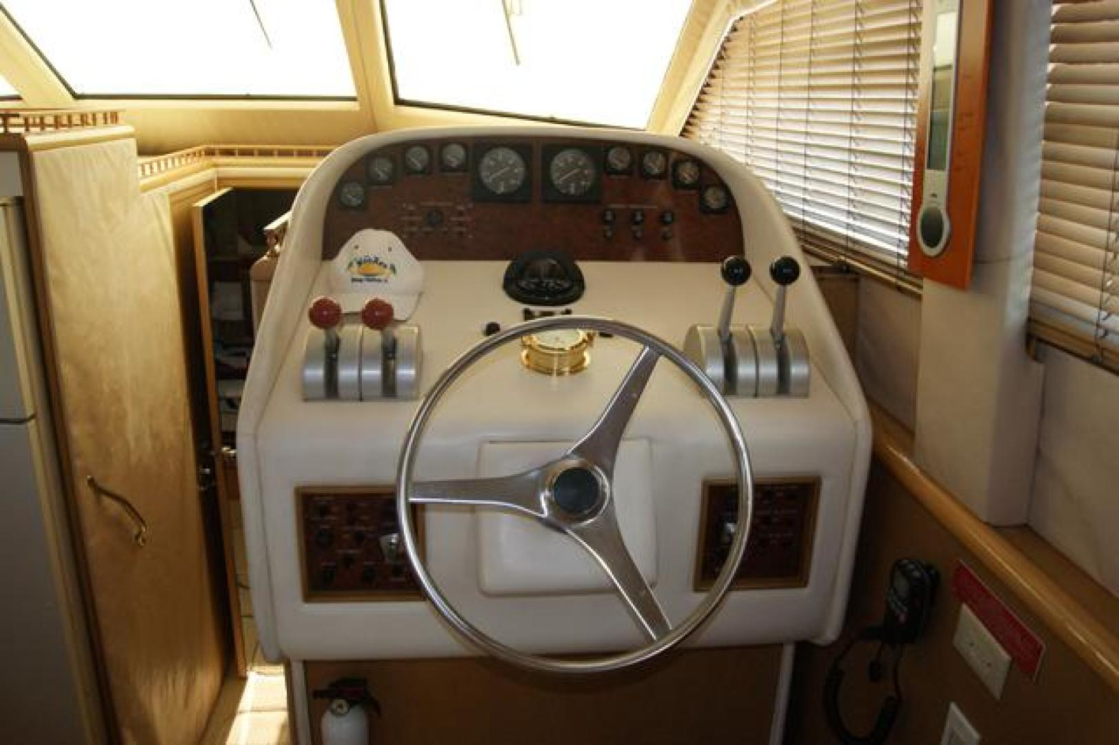 Hatteras-52 Cockpit MY 1999-Pass the Hatt Stuart-Florida-United States-926430 | Thumbnail