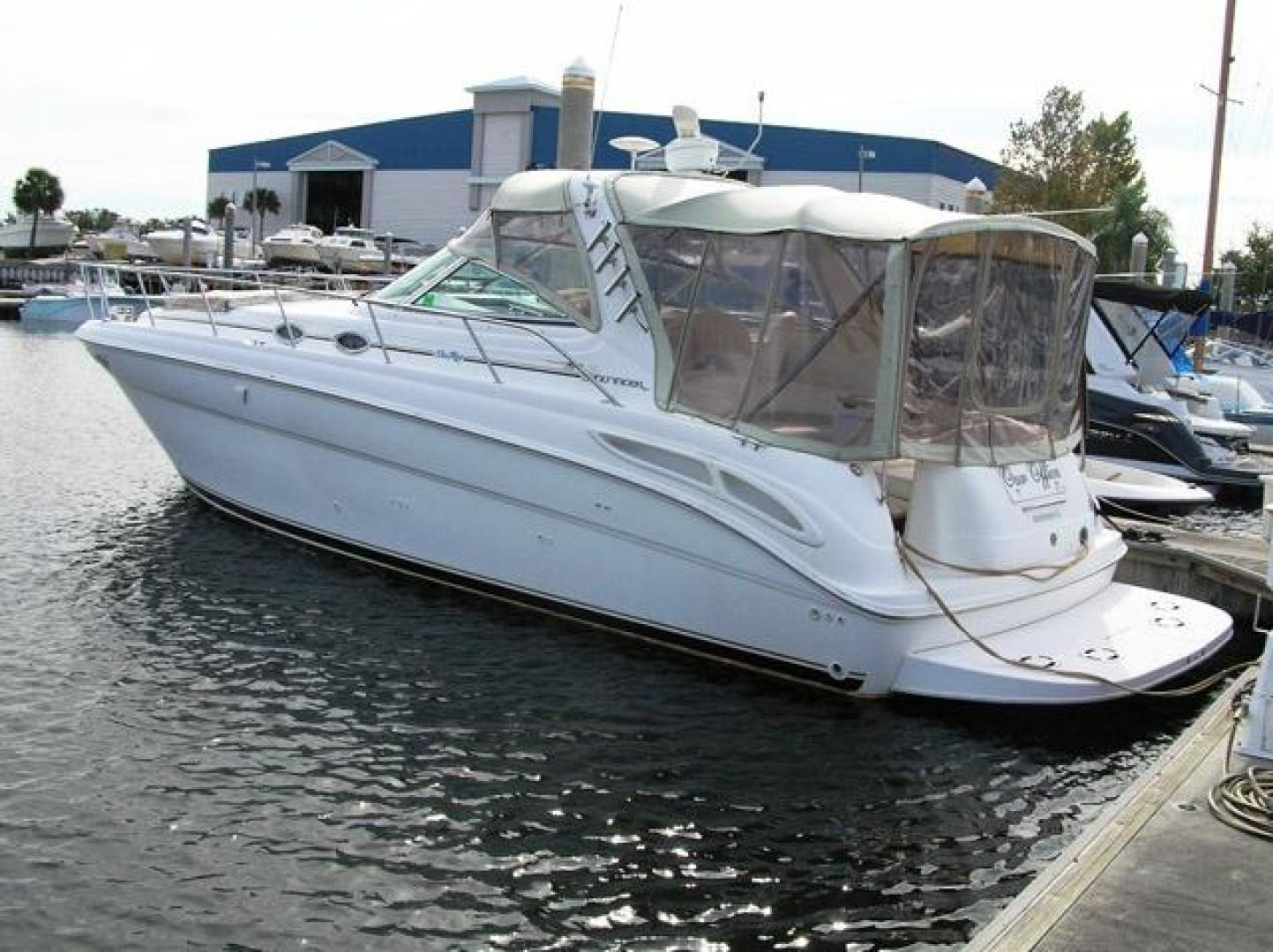 Sea Ray-Sundancer 2000-Our Office Ruskin-Florida-United States-Port Side Aft-376301 | Thumbnail