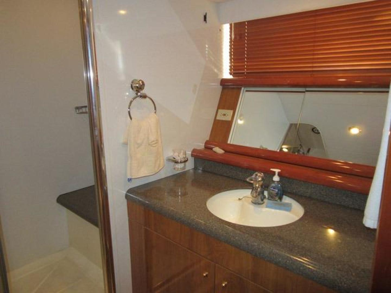 Sunseeker-Manhattan 64 2003-Dealership Fort Lauderdale-Florida-United States-Master Vanity and Sink-375991 | Thumbnail