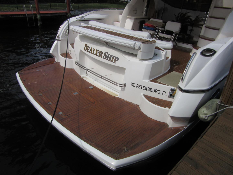 Sunseeker-Manhattan 64 2003-Dealership Fort Lauderdale-Florida-United States-Swim Platform-1147351 | Thumbnail