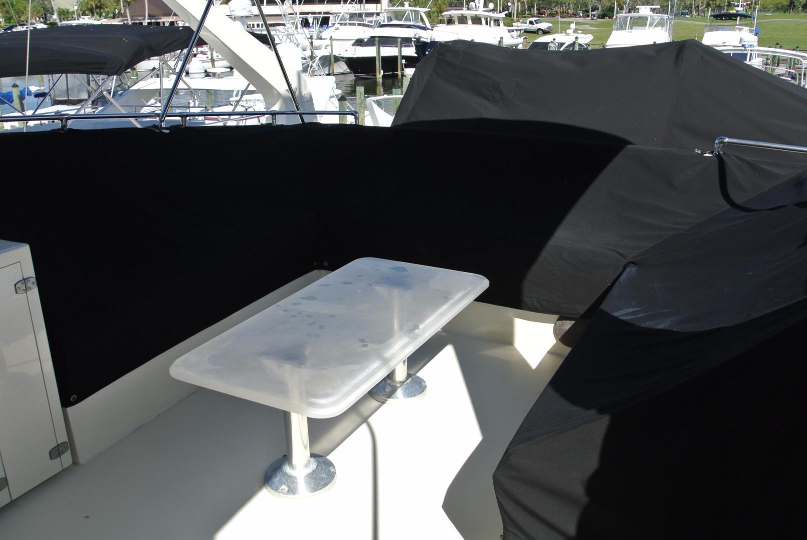 Hatteras-67-Cockpit-Motor-Yacht-1988-Lady-Encore-Saint-Petersburg-Florida-United-States-Fly-Bridge-seating-926185