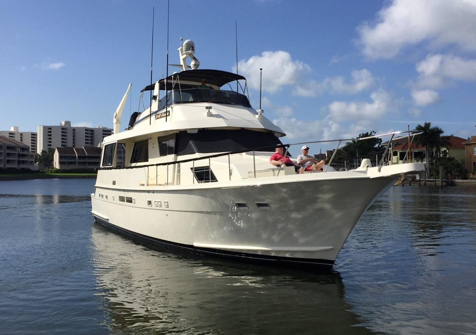 Hatteras-67-Cockpit-Motor-Yacht-1988-Lady-Encore-Saint-Petersburg-Florida-United-States-Bow-Profile-926168