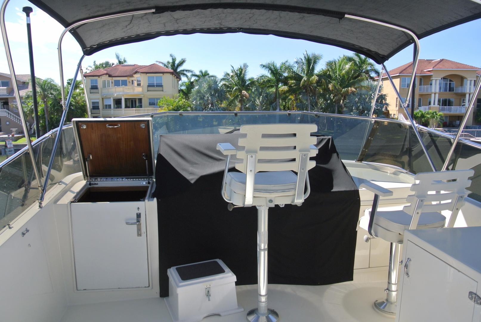 Hatteras-67-Cockpit-Motor-Yacht-1988-Lady-Encore-Saint-Petersburg-Florida-United-States-Fly-Bridge-926182