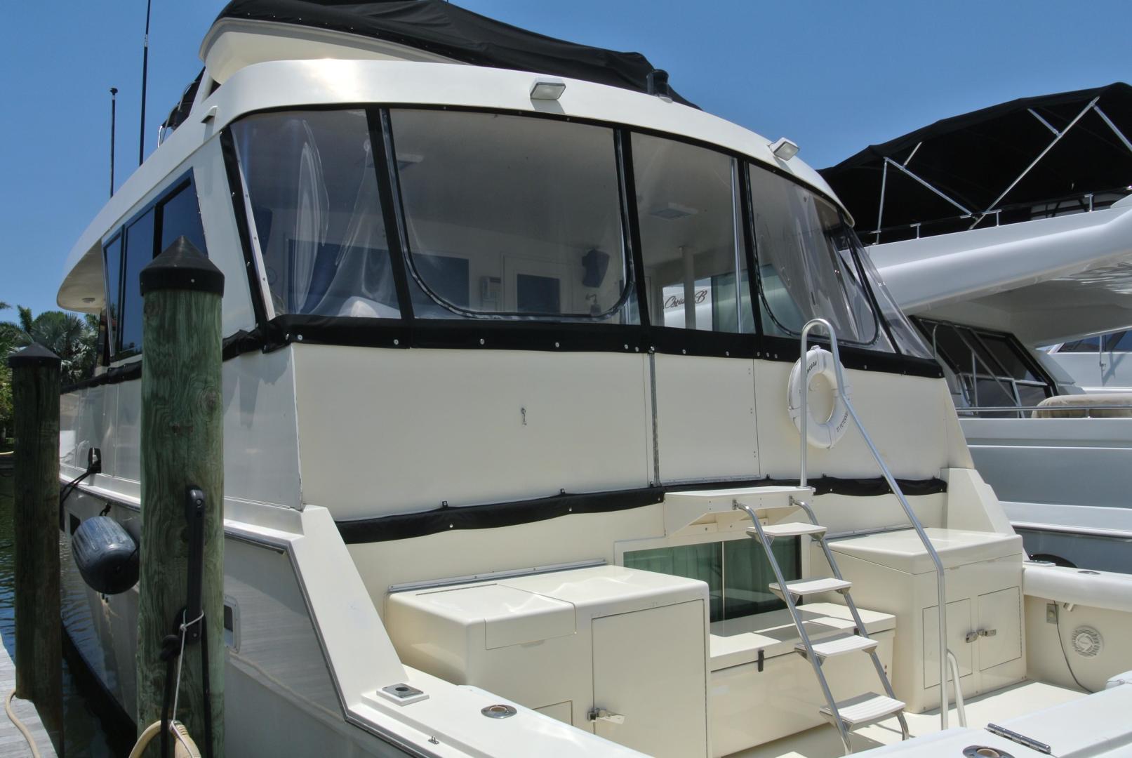 Hatteras-67 Cockpit Motor Yacht 1988-Lady Encore Saint Petersburg-Florida-United States-Aft-926170 | Thumbnail