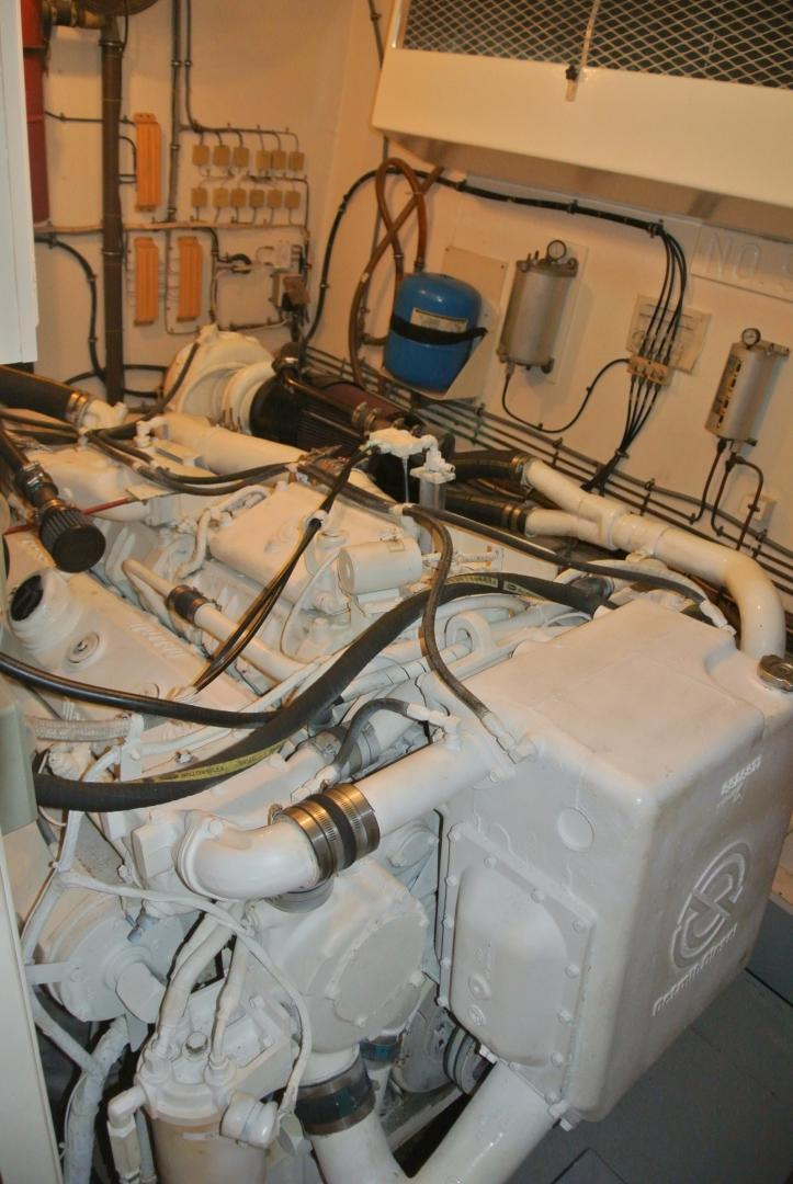Hatteras-67 Cockpit Motor Yacht 1988-Lady Encore Saint Petersburg-Florida-United States-E/R-926202 | Thumbnail