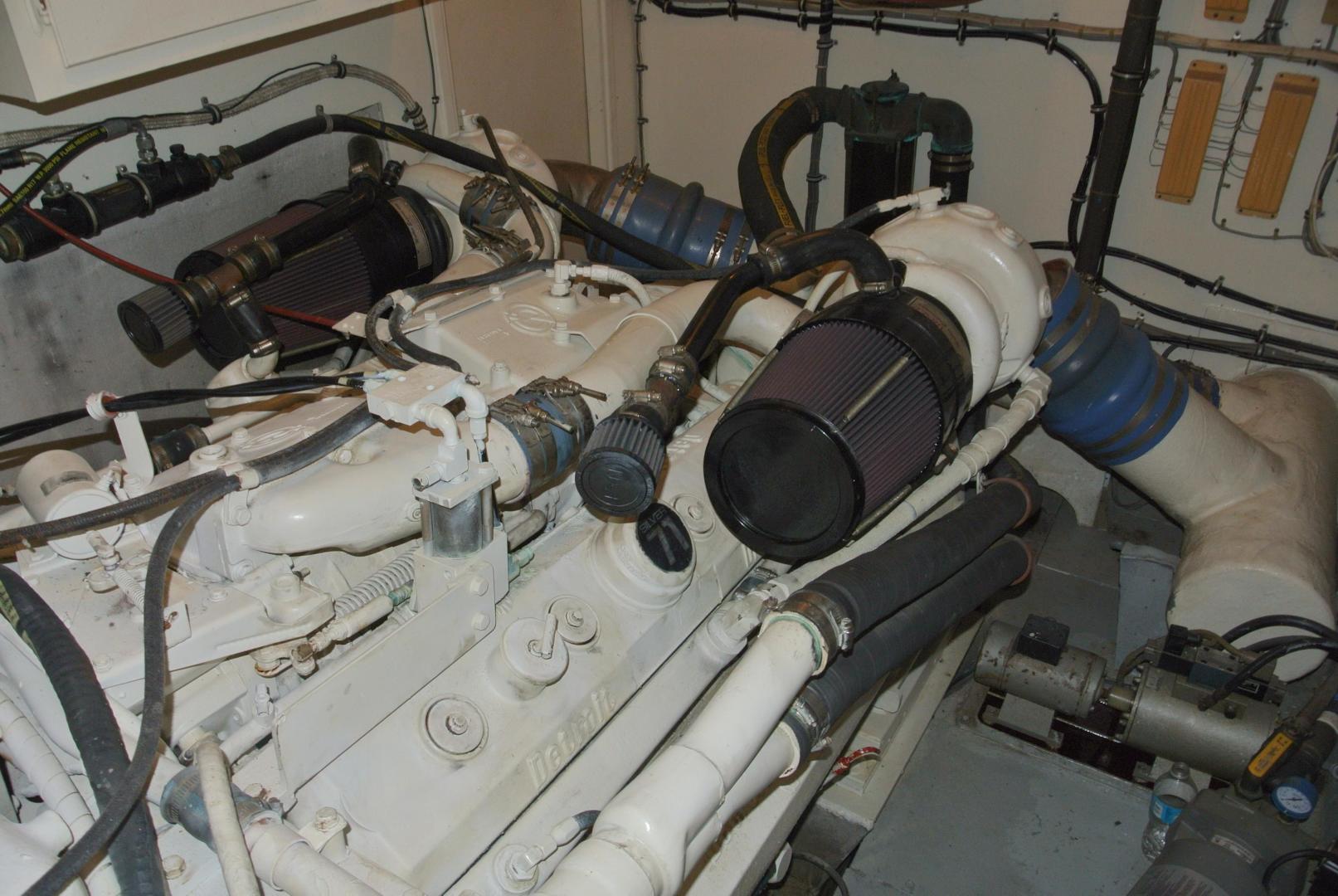 Hatteras-67 Cockpit Motor Yacht 1988-Lady Encore Saint Petersburg-Florida-United States-E/R-926203 | Thumbnail