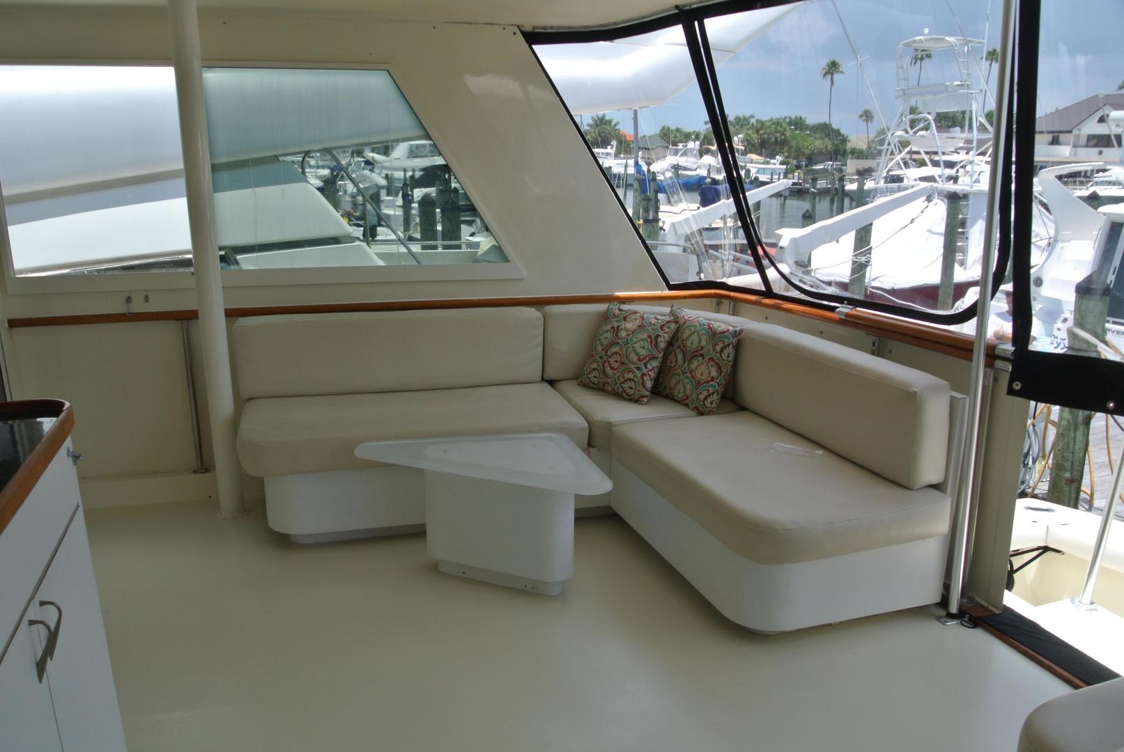 Hatteras-67 Cockpit Motor Yacht 1988-Lady Encore Saint Petersburg-Florida-United States-Aft Deck-926173 | Thumbnail