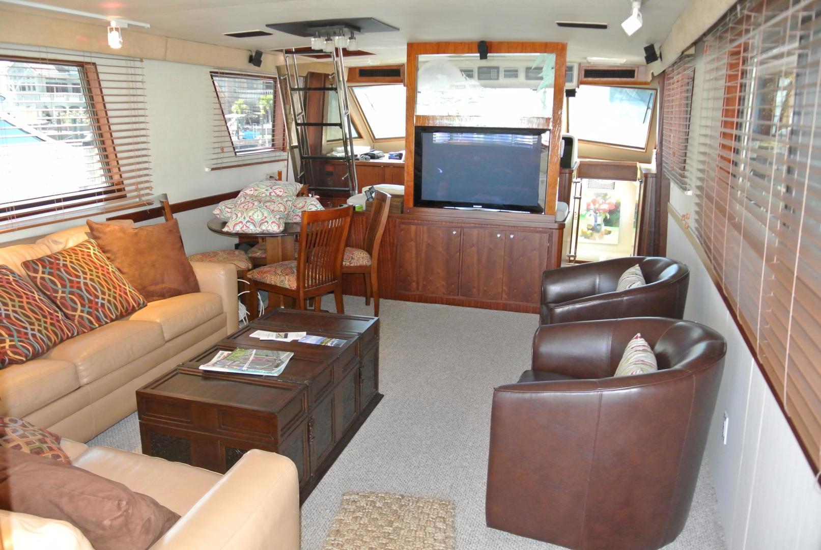 Hatteras-67-Cockpit-Motor-Yacht-1988-Lady-Encore-Saint-Petersburg-Florida-United-States-926187