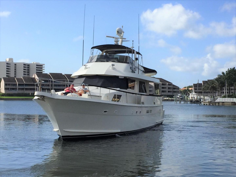 Hatteras-67-Cockpit-Motor-Yacht-1988-Lady-Encore-Saint-Petersburg-Florida-United-States-Bow-Profile-926169