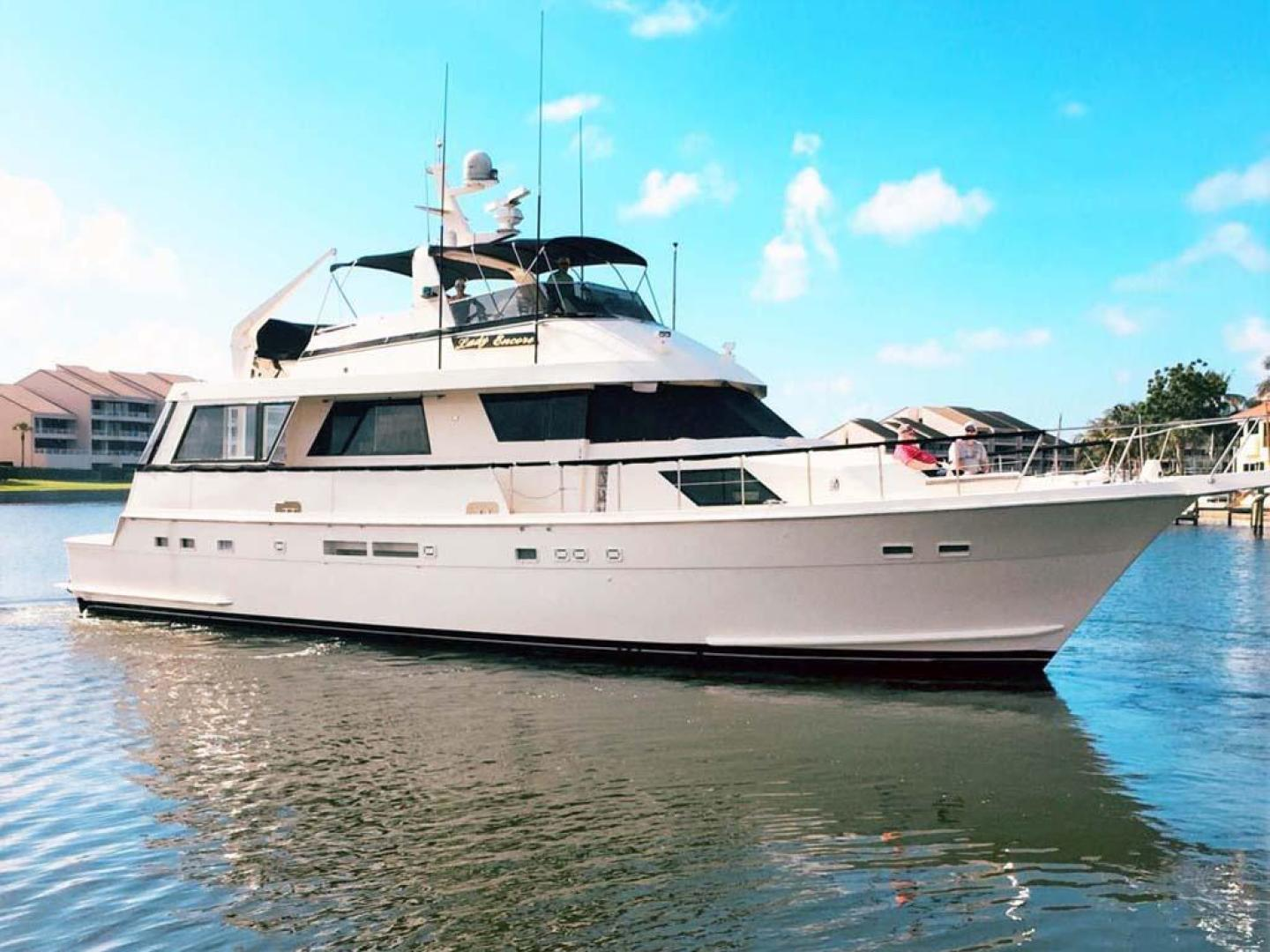 Picture Of: 67' Hatteras 67 Cockpit Motor Yacht 1988 Yacht For Sale | 1 of 46
