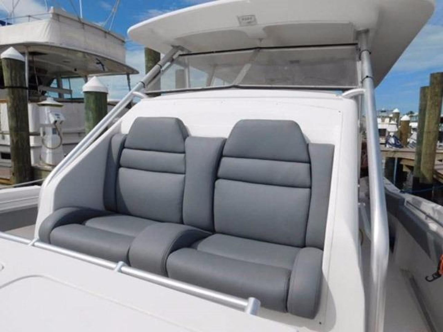 Millennia-Catamaran Center Console S/F 2009 -Madeira Beach-Florida-United States-Forward Seating in Center Console-925390 | Thumbnail