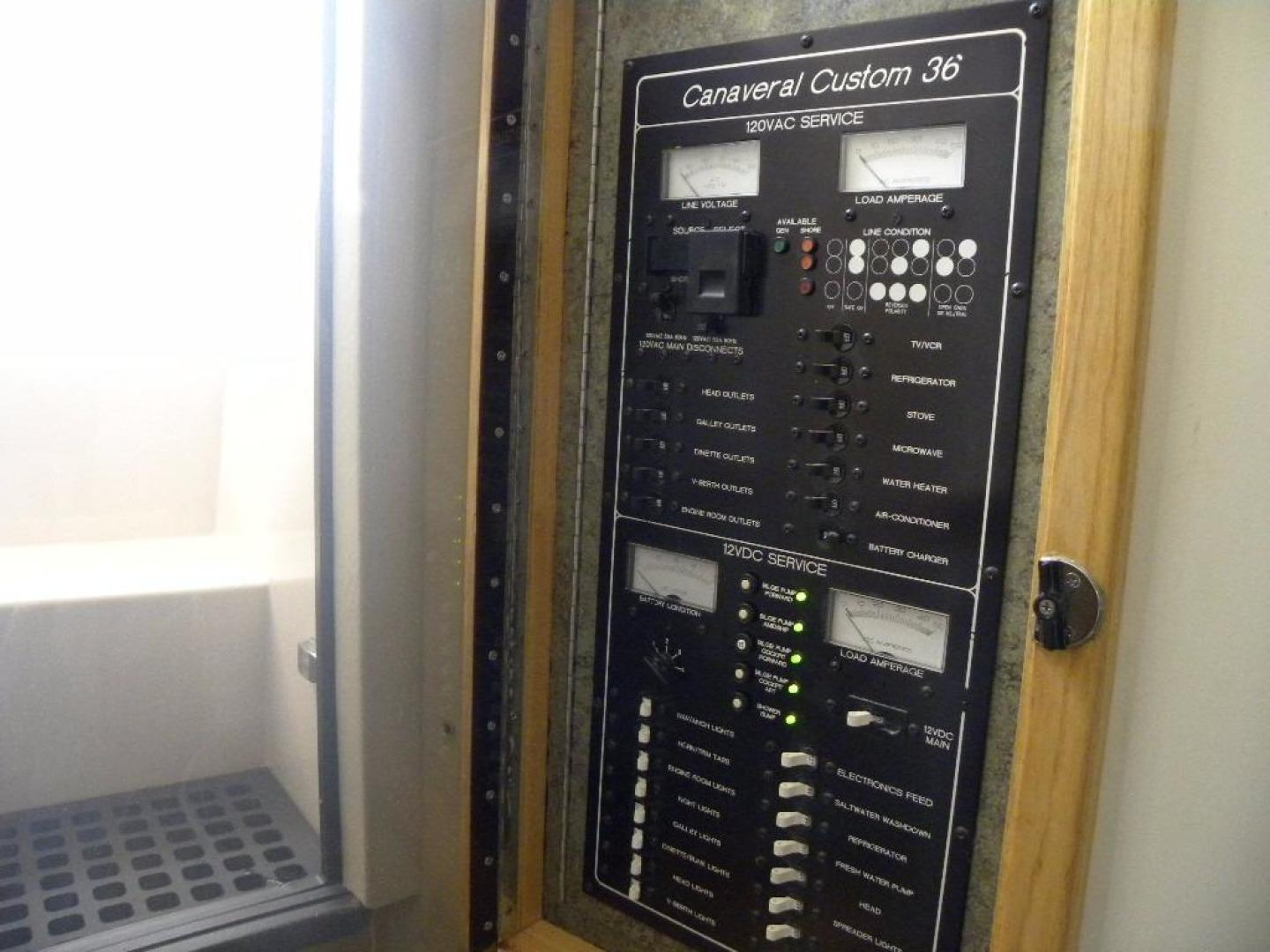 Delta Boat Company-36 SFX 2006-BroFish Cape Canaveral-Florida-United States-Electrical Panel-925487 | Thumbnail