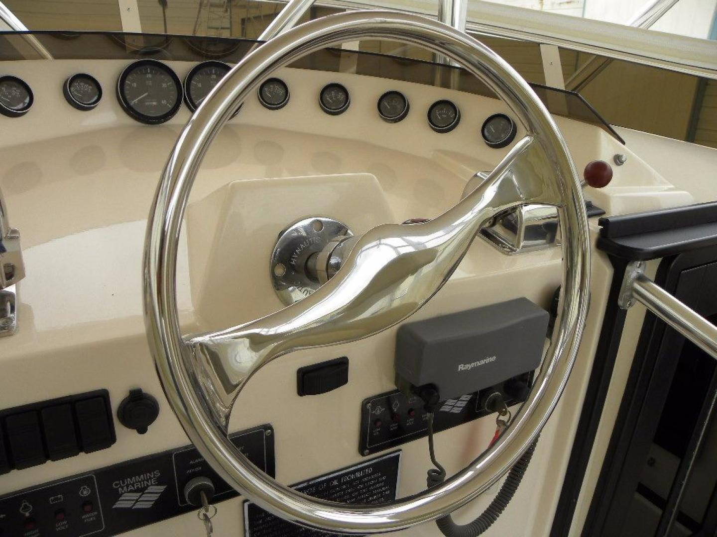 Delta Boat Company-36 SFX 2006-BroFish Cape Canaveral-Florida-United States-Steering Wheel-925475 | Thumbnail