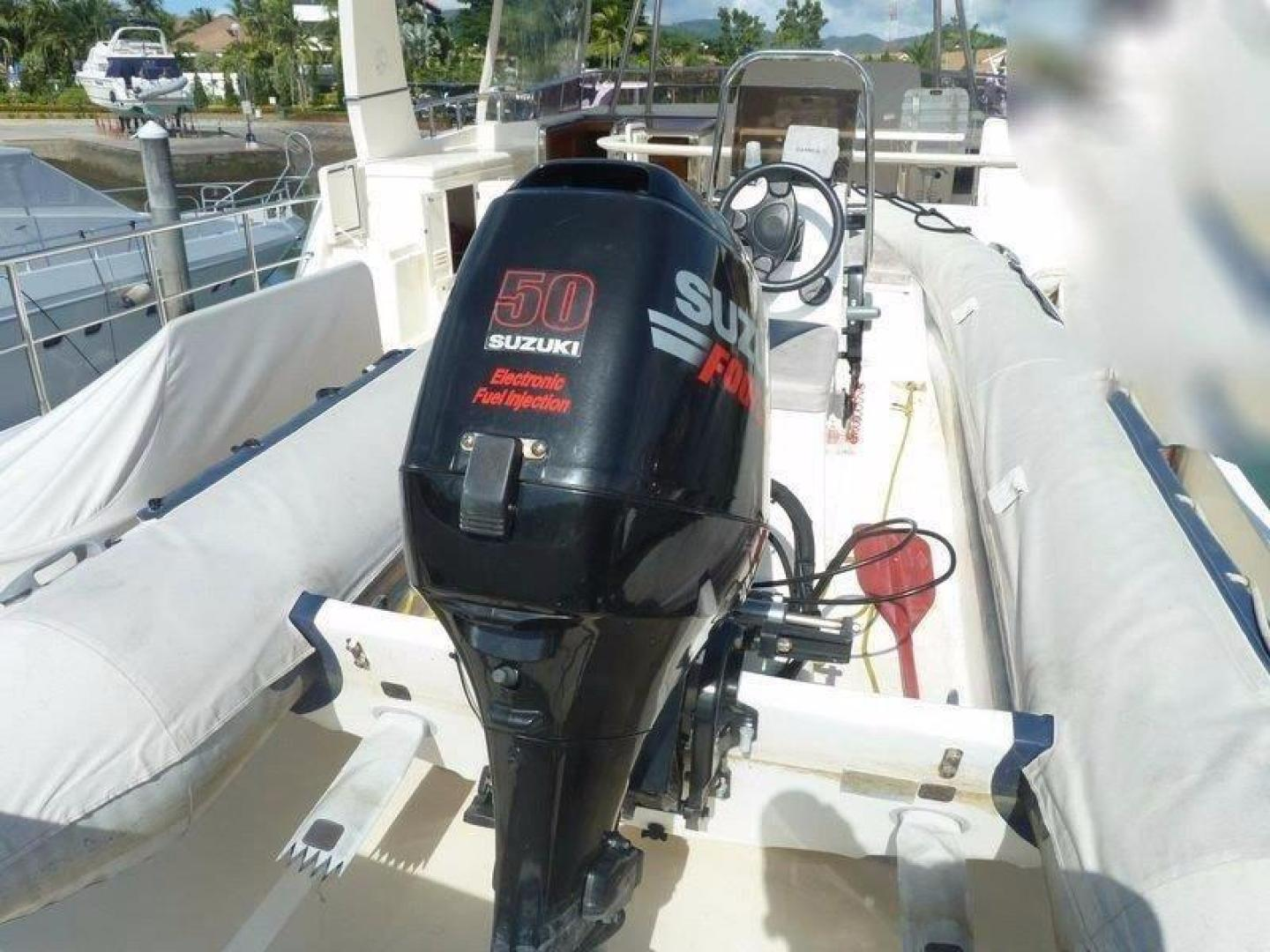 Selene-66 Flybridge 2009 -Unknown-Singapore-Tender Outboard 50 Suzuki-386073 | Thumbnail