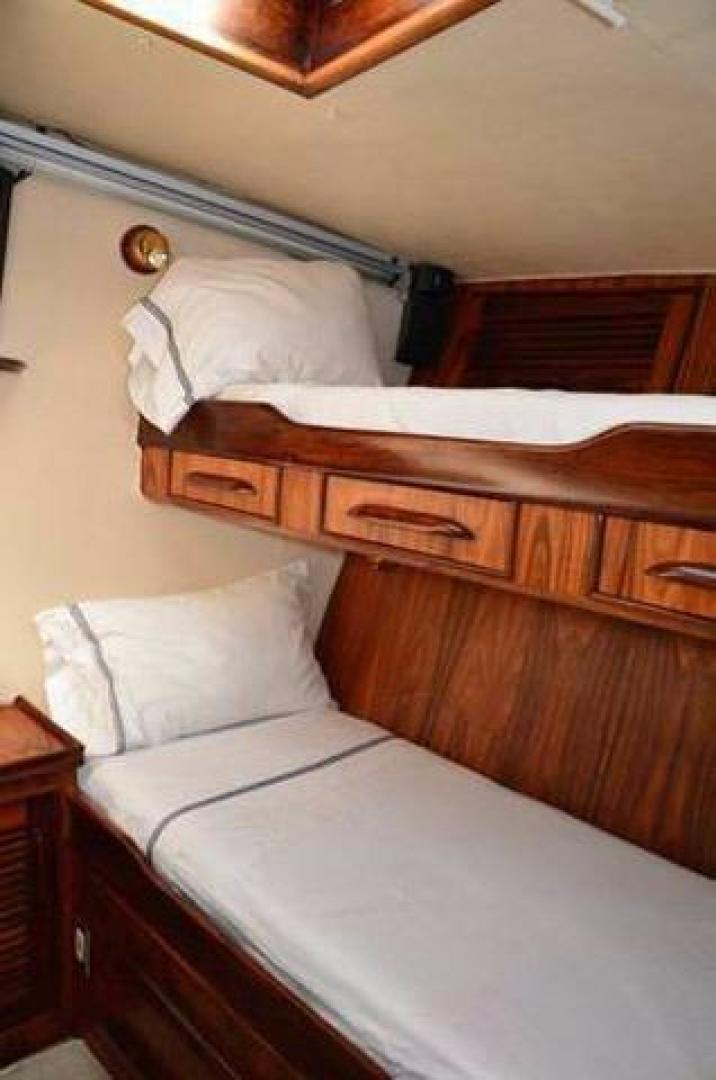 Buddy Davis-Sport Fishing Motor Yacht 1982-Rama III La Paz-Mexico-Bunk Berths-387258 | Thumbnail