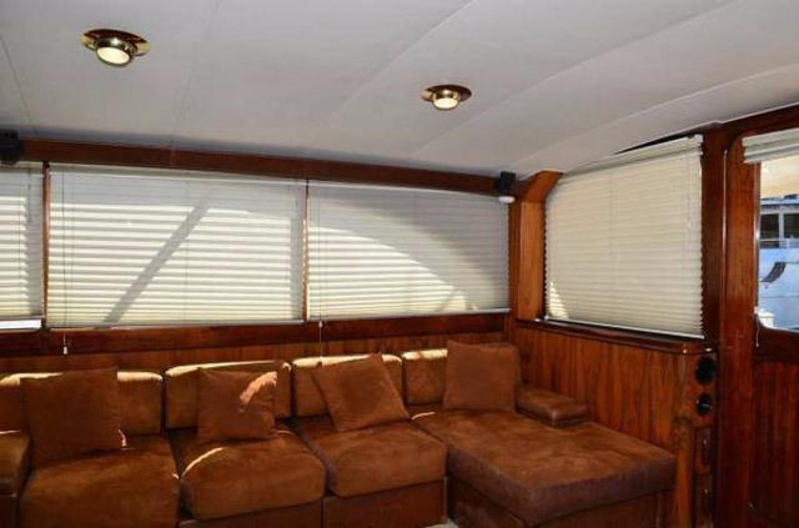 Buddy Davis-Sport Fishing Motor Yacht 1982-Rama III La Paz-Mexico-Salon Seating-387254 | Thumbnail