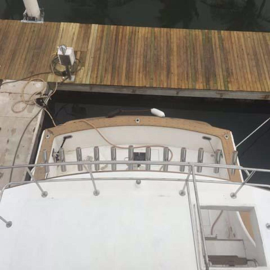 Bertram-Sport Fishing Motor Yacht 1971-Sundance La Paz-Mexico-Flybridge to Cockpit-387342 | Thumbnail