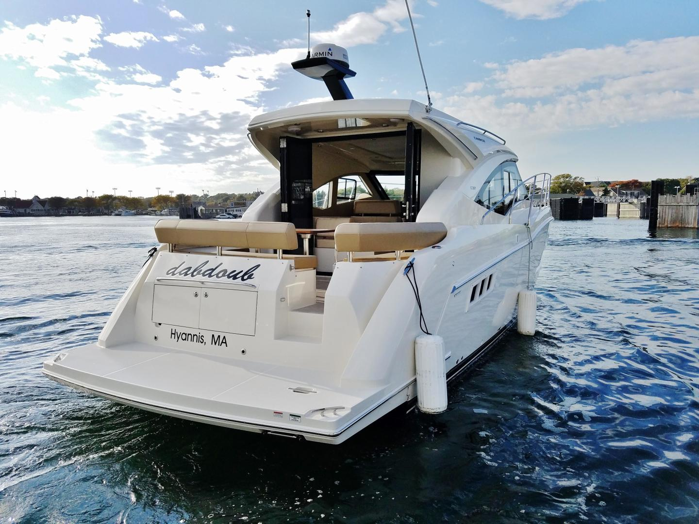 Carver-C37 Coupe 2016-DABDOUB Falmouth-Massachusetts-United States-Stern Profile-135477 | Thumbnail