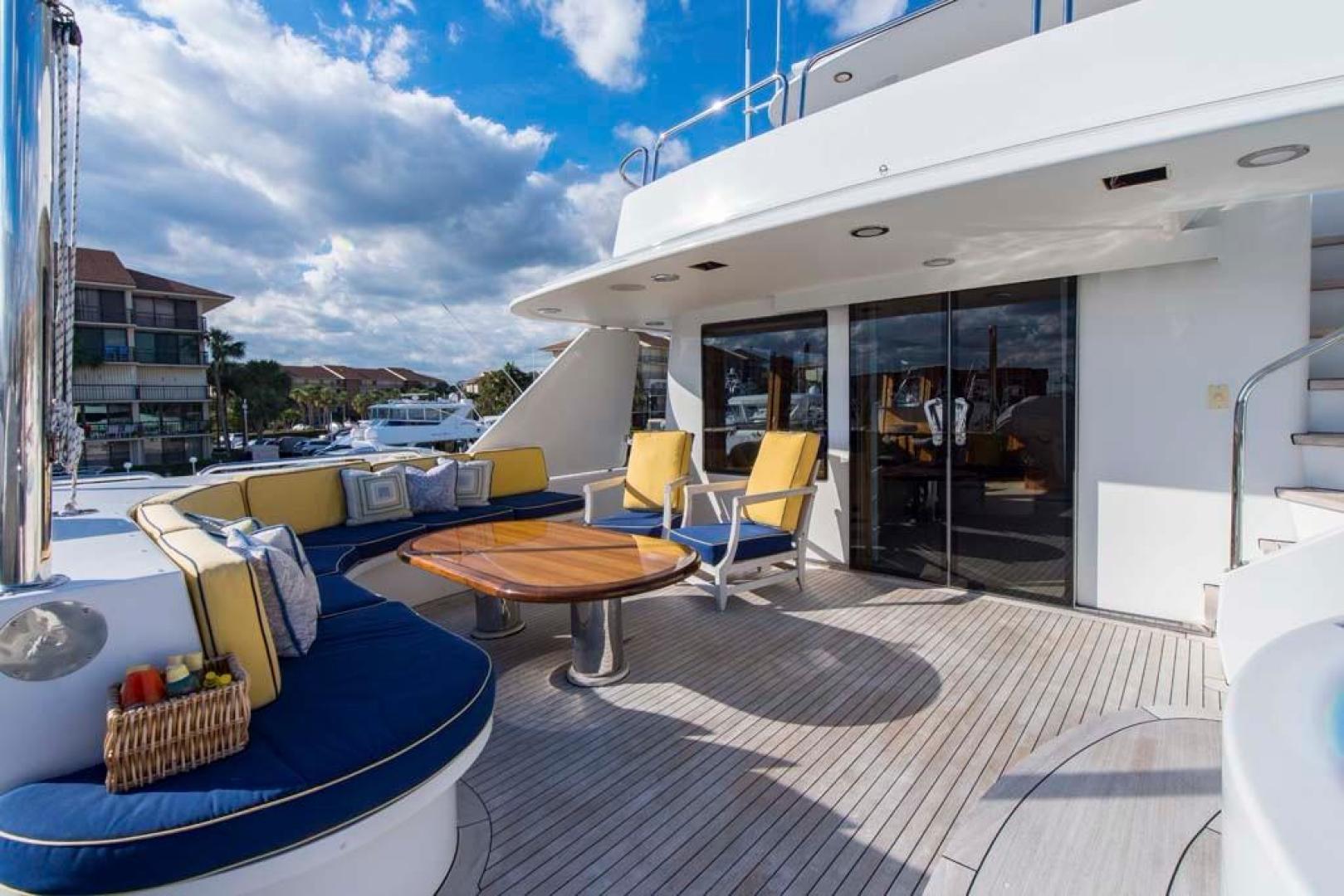 Westport-Tri-Deck 2003-Vision Jupiter-Florida-United States-Sky Lounge Aft Deck-370717 | Thumbnail